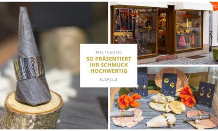 Schmuck hochwertig präsentieren: Tipps aus dem Weltladen Alsfeld für eine attraktive Schmuckdeko