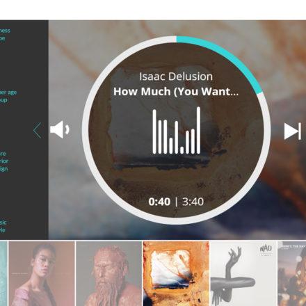 Musikauswahl 3: Die Wahl deines Innendesigns grenzt die Auswahl weiter ein. Auch hier sind Mehrfachnennungen möglich.