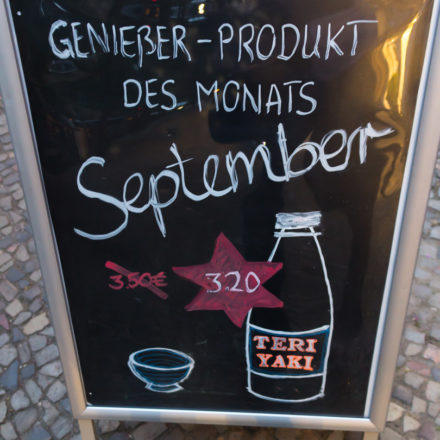 Plakat für September