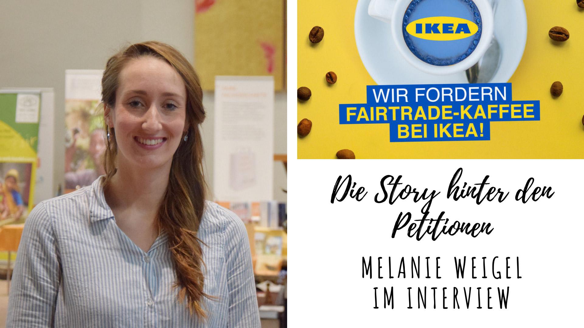 Die Frau hinter den Petitionen für fairen Kaffee bei DB und IKEA – Melanie Weigel im Interview