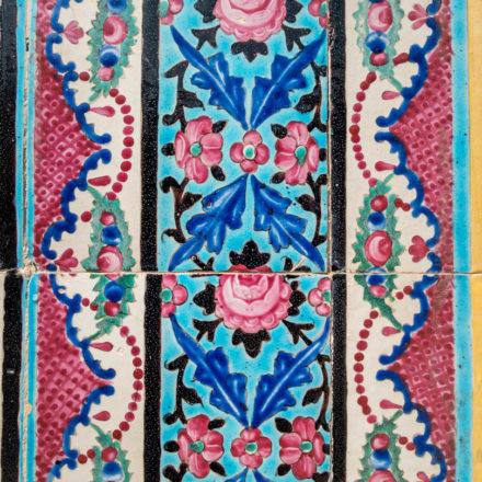 Mosaik in der Nasir-ol-Molk-Moschee in Shiraz.