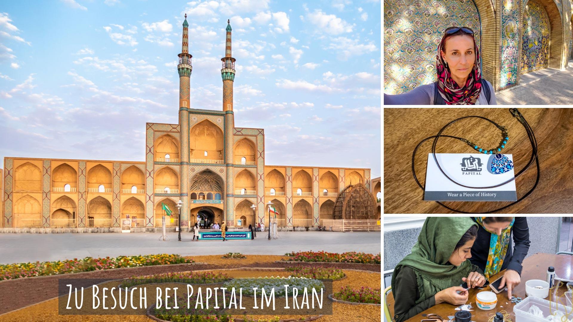 Zu Besuch bei Papital: Moderne Ornamentkunst und soziales Engagement im Iran