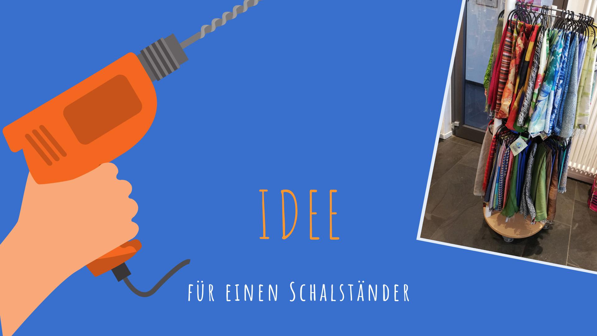 Schalpräsentation Teil 3: Idee für einen Schalständer