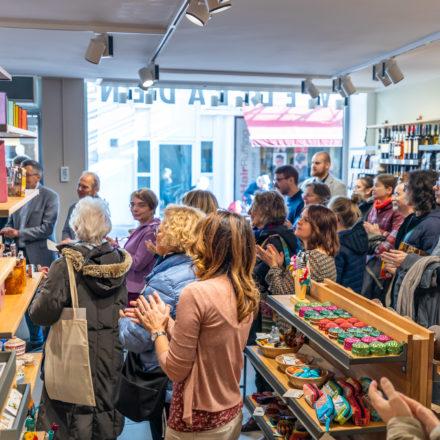 Der Weltladen Weinheim liegt zentral in der Fußgängerzone in einer 1A Lage. Er gehört zu einem der nachhaltigsten Einzelhandelsgeschäfte in Deutschland.