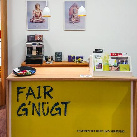 FAIR G'NÜGT Geschäft von Frida Feeling in Darmstadt