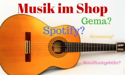 Musik im Einzelhandel – alles rund um Streaming, Gema und Co