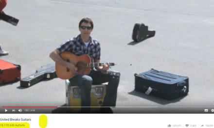 """Reklamationen Teil 1: Das erzähle ich 18 Mio Menschen weiter – das Beispiel """"United Breaks Guitars"""""""
